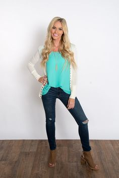These have been one of our most popular tops. They have a loose flattering fit. They are so great to wear by themselves or to use as a layering piece.