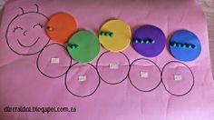Oruga contadora para niños ciegos / Counting caterpillar for blind children