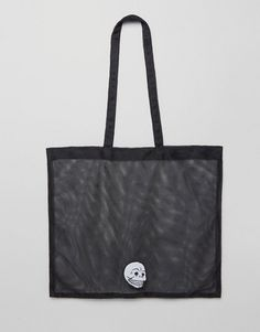 Cheap Monday Mesh Skull Shopper