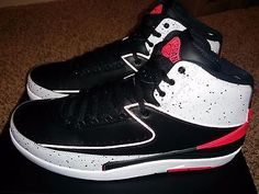 Nike Air Jordan 2 Retro II Black/Infrared 23 Cement 11 Chicago Just Don OVO 16