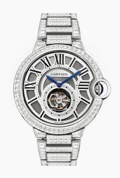 Here at WatchesOnNet we have always been a fan of Cartier and their watches, but this Ballon Bleu Tourbillon white gold diamond watch is just something else!    http://mywat.ch/cartierballonbleu