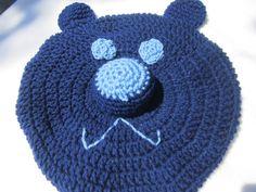 50 Percent Off Teddy Bear Pajama Pillow in by crochetedbycharlene, $9.00