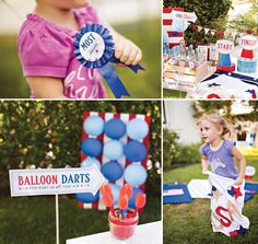 {Patriotic DIY} 4th of July County Fair Games http://hwtm.me/ZILeAL