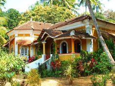 Arquitetura residencial tradicional de Goa