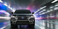 RX Hybrid shown in Obsidian with available Appearance Package and LED headlamps.