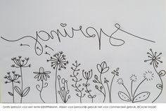 Gratis sjabloon voor een #lente #Spring #krijtstifttekening gemaakt door #cecielmaakt #raamtekening #raamdecoratie #windowdrawing #spring #lente Dandelion Drawing, Chalk Writing, Chalk Pens, Pen Design, Wall Drawing, Idee Diy, Diy Garland, Window Art, Ceramic Flowers