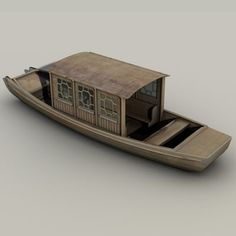 Chinese Boats Model available on Turbo Squid, the world's leading provider of digital models for visualization, films, television, and games.