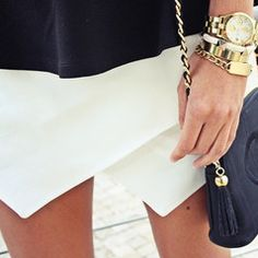 This is one of my favorites on glamzelle.com: Culotte Shorts Mini Skort (4 colors available)