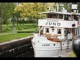 Flusskreuzfahrt auf dem Göta Kanal in Schweden