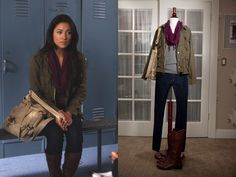 Silk and Spice: Get the Look: Pretty Little Liars Style - Emily Fields