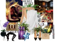 """MUGLER"" by laonela ❤ liked on Polyvore"
