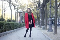 Red Coat | BeSugarandSpice - Fashion Blog