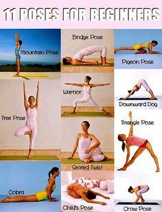 11 beginner yoga poses
