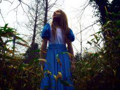 Alice in a dark interpretation of wonderland