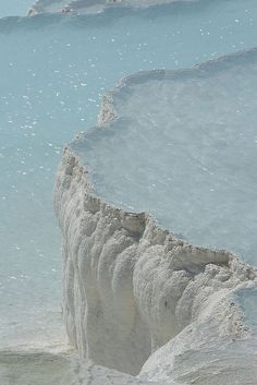 Pamukkale_IMG_7587 by astrohans, via Flickr, in Hierapolis, Turkey. Holy cow.