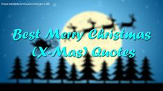 Best Merry Christmas (X-Mas) Quotes