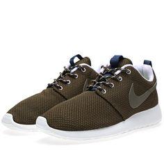 Nike Roshe Run (Dark Loden & Medium Olive)