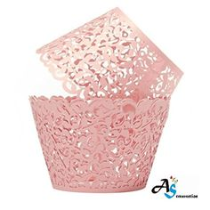 Gold Cupcakes, Wedding Cupcakes, Wedding Cake, Party Wedding, Tea Party, Wedding Sweets, Chic Wedding, Wedding Ceremony, Pink