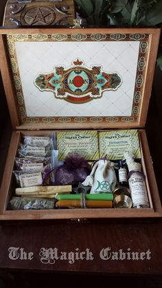 Divination Witches Box Traveling Altar Ritual by TheMagickCabinet