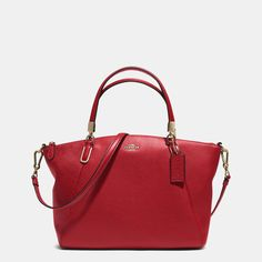 IT'S NAMED AFTER ME!  I NEED THIS!!!!!!!  Coach :: SMALL KELSEY CROSSBODY IN PEBBLE LEATHER