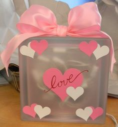 cricut vinyl valentine crafts | HTB Creations: February 2011
