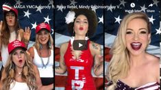 Here's another version of the MAGA YMCA song, live from the protest streets. Really fun: The MAGA YMCA Dance Party. #MAGA #YMCA #DanceParty