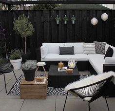 Balcony plants & Furniture