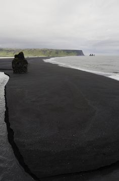 Black Beach ~ Vik, Iceland.