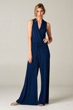 Madison Jumpsuit in Navy