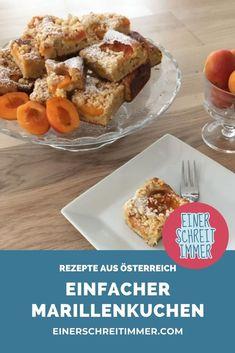 Für diesen Kuchen brauchst du nicht einmal einen Mixer. Das Rezept ist ein Klassiker unserer Familienküche und schmeckt Kindern wie Eltern. Das einfache Rezept für diesen Streuselkuchen vom Blech ist schnell gemacht und gehört zu den liebsten Mehlspeisen meiner Kinder. Du kannst den Kuchen mit Früchten deiner Wahl belegen: Aprikosen, Blaubeere, Äpfel, Pflaumen, Zwetschgen.   #einerschreitimmer #rezepte #Österreich #familienküche #kochemitKindern  #Mehlspeisen #süßspeisen #streuselkuchen Mixer, French Toast, Breakfast, Food, Tray Bakes, Kid Cooking, Hoods, Meals