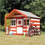 5 x 6 Waltons Honeypot Honeysuckle Wooden Playhouse on Walton Garden Buildings Playhouse Decor, Childrens Playhouse, Wooden Playhouse, Playground Set, Playground Design, Children Playground, Small Buildings, Garden Buildings, Garden Sheds Uk