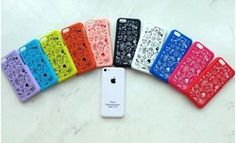 Online Shop 25Pcs/lot,New Magic Girl Style Hard Back Cover Case For Iphone 5C Case, Mix Color|Aliexpress Mobile