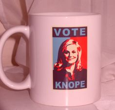 """Vote Knope Mug 