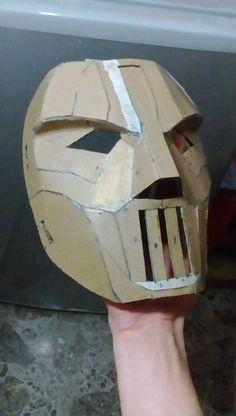 Casey Jones mask (TMNT) (WIP)