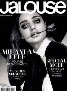 Miranda Kerr. Jalouse. February 2013
