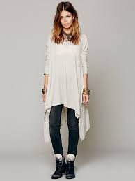 free people sleeveless mock neck asymmetric hem - Google Search