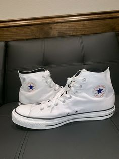 09199f7bc7a Converse All Star High Tops  White  Mens Size 13  fashion  clothing