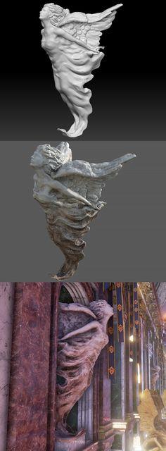 statue_angel_plaster, UM JOORIN