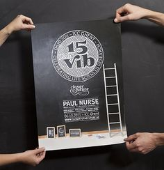 15 years VIB: Event and 9 Books by Coming Soon , via Behance