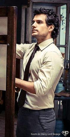 Henry Cavil #hotness #superman