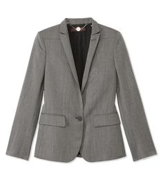 Fall Tweed Trend at - Stella McCartney Classic Grey Tweed Blazer New Outfits, Fall Outfits, Cute Outfits, Grey Tweed Blazer, Modest Wear, Business Women, Business Lady, Fashion Articles, Stella Mccartney