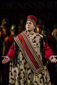 Thomas Hampson como Simón Bocanegra (The Royal Opera 2012-2013)