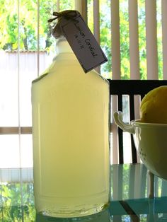 Homemade Lemon Cordial Recipe     I had this huge bowl of peeled lemons left over from our adventures ma...