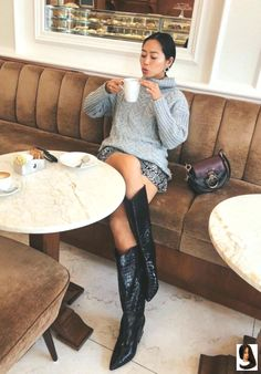 Boots outfit Fresh Cowboy Boots Outfits Ideas Fresh Cowboy Boots Outfits Ideas – M outfits moda masculina outfits casual outfits Work outfits swag outfits urban Casual Winter Outfits, Winter Boots Outfits, Casual Dress Outfits, Mode Outfits, Spring Outfits, Casual Shoes, Grey Boots Outfit, Woman Outfits, Men Casual