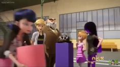 Look how excited Adrien got when Merinette ran into the room, he must be really excited to see what she came up with.