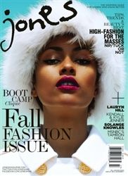 Jones Magazines Fall Issue on sale now at www.shipzoo.com