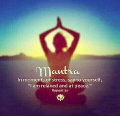 I am relaxed and at peace. balancedwomensblog.com