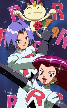 Prepare for Trouble & Jessie Cuddles! Equipe Rocket Pokemon, Pokemon Team Rocket, Team Rocket James, Pokemon Rouge, James Pokemon, Manga Anime, Hd Cool Wallpapers, Pokemon Pictures, Cute Pokemon