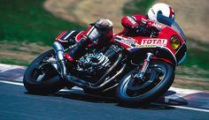 1981 World Endurance Championship Suzuka 8H Honda RS1000 David Aldana