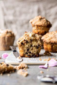 Chocolate Chip Coffee Cake Muffins | halfbakedharvest.com